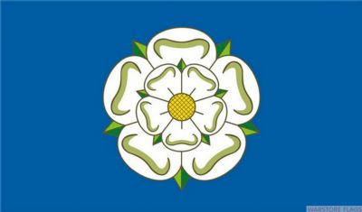 YORKSHIRE (NEW) - 8 X 5 FLAG